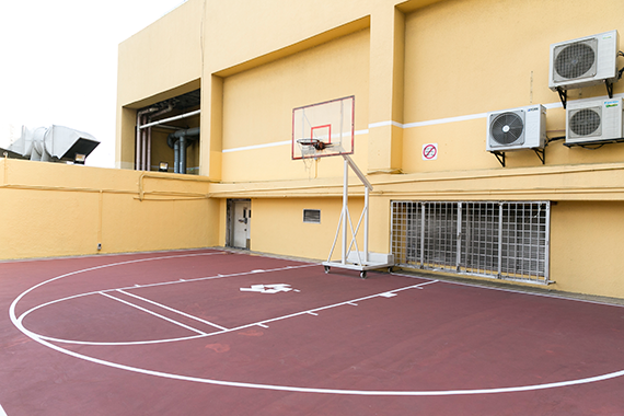 Celebrity Fitness Malaysia Club Feature Basketball Court